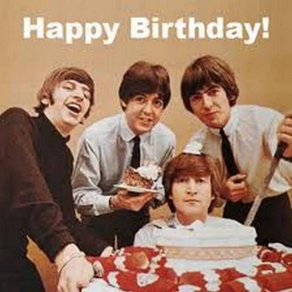 Beatles с днём рождения