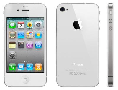В США начались поставки белого iPhone 4