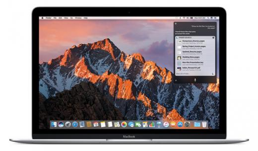 MacOS Sierra доступна для установки
