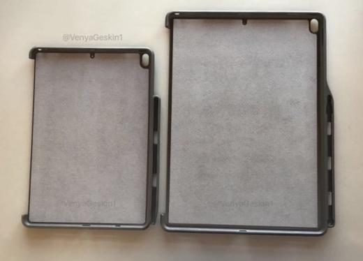 В Сети появились фотографии чехлов для будущих iPad Pro и 10,5-дюймового iPad